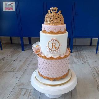 Bolo 1Ano Princesa - Princess Cake