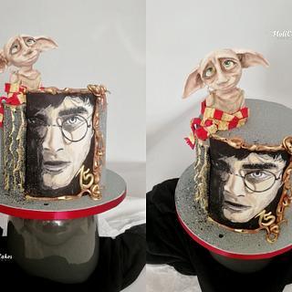 Harry Potter  - Cake by MOLI Cakes