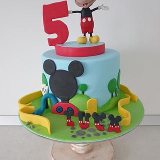 Mickey Mouse  - Cake by Torturi Mary