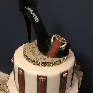 Gucci shoe cake  - Cake by Andrias cakes scarborough