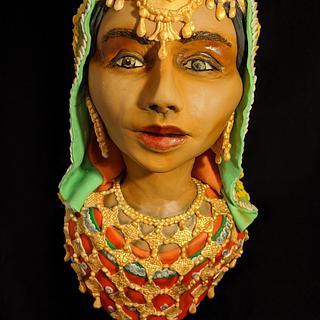 Indian Lady - Cake by Julijascakes