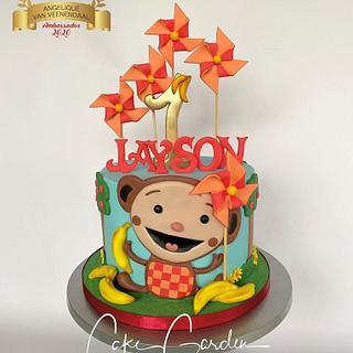 Monkey Oliver cake  - Cake by Cake Garden