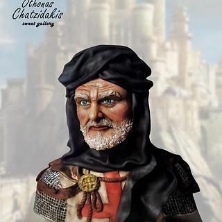 Knight of the round table - Cake by Othonas Chatzidakis