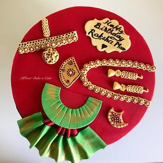 Bharatnatyam Theme Cake