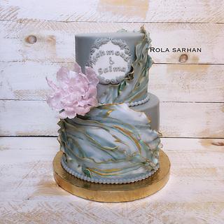 Engagement cake 🌸
