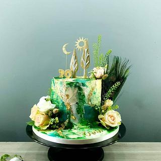 BoHo Chic - Cake by Radoslava Kirilova (Radiki's Cakes)