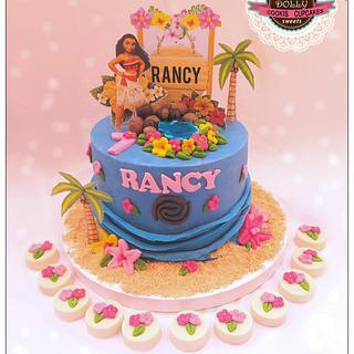 Moana cake  - Cake by Dolly Hamada