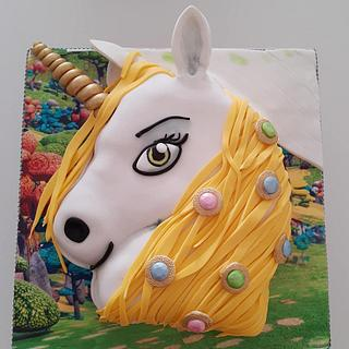 Unicorn - Cake by Janny Bakker