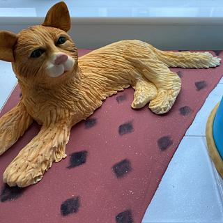 Cat cake - Cake by Emmascakeshk