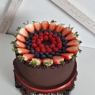 Bday chockolade cake