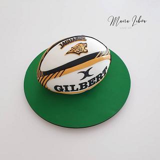 Rugby  - Cake by Maira Liboa