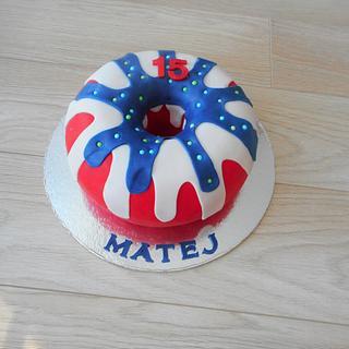 Donut cake  - Cake by Janka
