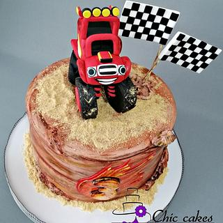 Blaze cake...