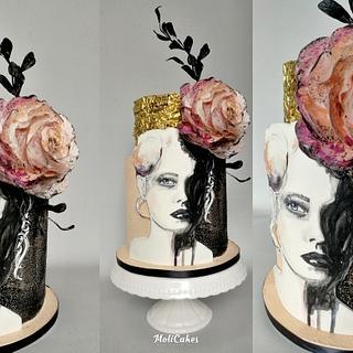 Woman - Cake by MOLI Cakes