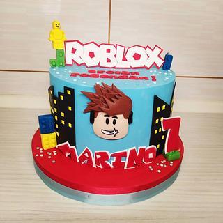 Roblox cake - Cake by Tortalie