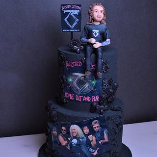 Twisted Sisters Cake