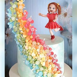 Candies rainbow