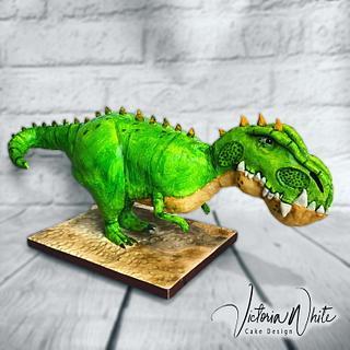Gigantosaurus  - Cake by Victoria White