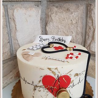 Bday cake🍾🎊🥳🥳🎉 - Cake by TorteMFigure