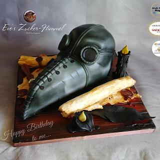 My plague mask .. my Birthday Cake - Cake by Eve´s Zucker-Himmel