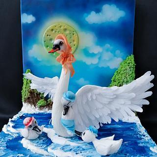 Sir David Attenborough Collab - Cake by Mischell