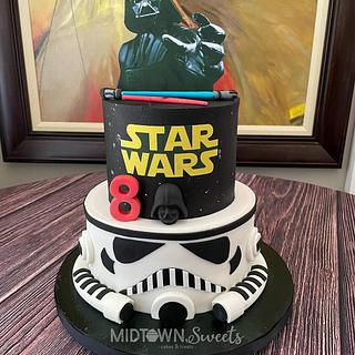 Star Wars Birthday Cake - Cake by Midtown Sweets