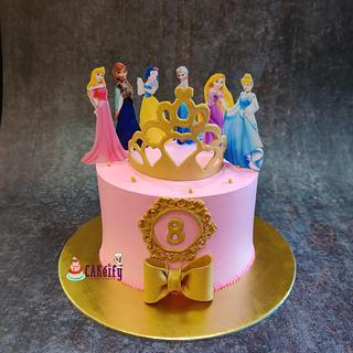 Cake for Disney princess lover - Cake by Nikita shah