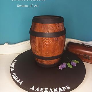 Barrel Cake 🎂
