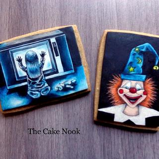 👻 Poltergeist horror film cookies. 👻
