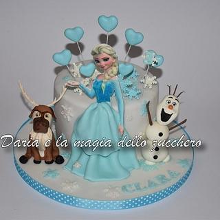 Frozen Disney cake - Cake by Daria Albanese