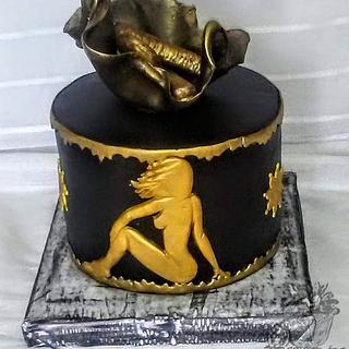Men birthday cake