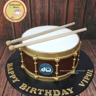Drum Cake - Cake by Authentique Bites by Ekta & Nekta