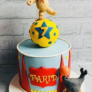 🎪 Circus Celebration Cake 🎪
