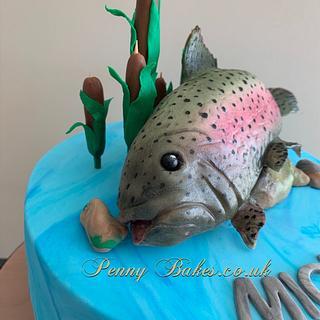 My trout pout!!
