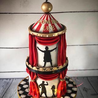 Greatest show cake