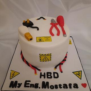 """Electrical Engineering cake"""