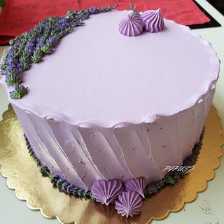 Lavander  - Cake by Gyöngyi