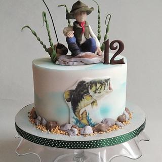 Fisherman  - Cake by Jitkap