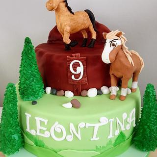 Spirit WIld horse - Cake by LanaLand