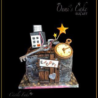 Escape Game Cake - Cake by Cécile Fahs