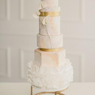 Wedding cake style - Cake by Dmytrii Puga