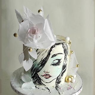 White beauty - Cake by Tanya Shengarova