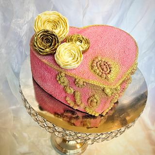 Velvet banana cake - Cake by SLADKOSTI S RADOSTÍ - SLADKÝ DORT