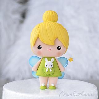 Cute Fairy Cake Topper - Cake by Crumb Avenue