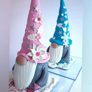Gnomes ( mini cakes ) - Cake by My little cakes