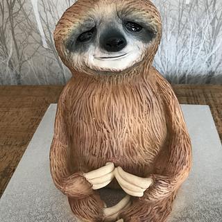 Sloth 3d cake