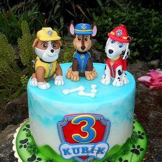 PAW Patrol - Cake by Derika