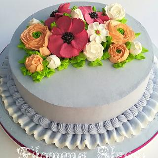Whippingcream cake gluteen free