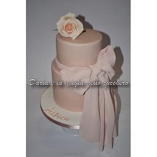 Elegant pink cake - Cake by Daria Albanese