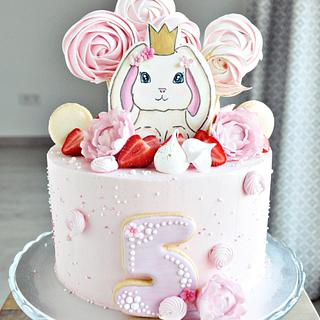 Bunny Cake - Cake by rincondulcebysusana